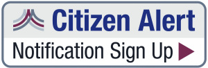 Citizen Alert Sign Up