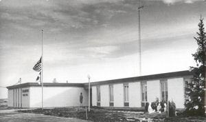 Police Department in Village Hall 1967