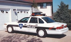 Squad car from mid-1990s
