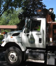 Public Works is responsible for fleet maintenance.