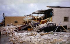 Microburst in 4B Industrial Park, 1991